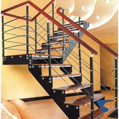 38 mẫu cầu thang sắt hộp đẹp và đơn giản
