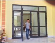 Bàn giao cửa nhôm Xingfa tại Thường Xuân, Thanh Hóa