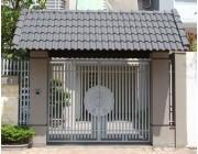 26 mẫu cửa cổng sắt 2 cánh đẹp, đơn giản và hiện đại 1
