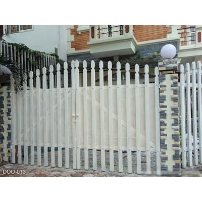 26 mẫu cửa cổng sắt 2 cánh đẹp, đơn giản và hiện đại 2