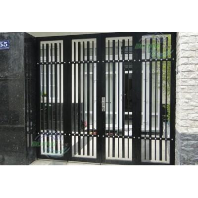 Thiết kế thi công cửa cổng sắt