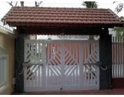 Mẫu cửa cổng sắt 4 cánh đẹp, đơn giản, hiện đại phần 1