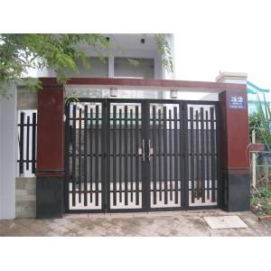 Mẫu cửa cổng sắt 4 cánh đẹp, đơn giản, hiện đại phần 2