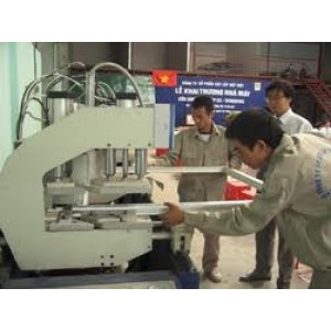 Quy trình sản xuất cửa nhựa lõi thép gia cường