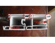 Tác dụng của lõi thép bên trong khung nhựa upvc