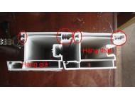 Cách lựa chọn thanh nhựa Upvc làm cửa nhựa lõi thép