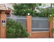 Hàng rào sắt trong thiết kế kiến trúc