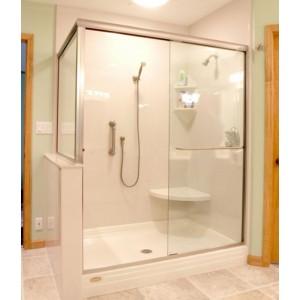 Mẫu cabin vách kính phòng tắm đẹp 1