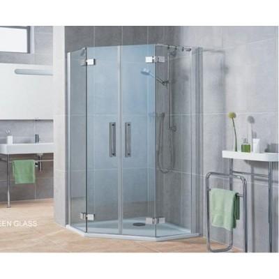 Mẫu cabin vách kính phòng tắm đẹp 2