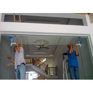 Một số lưu ý khi thi công lắp đặt cửa kính thủy lực