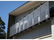 Sử dụng lam chắn nắng trong nội thất xây dựng