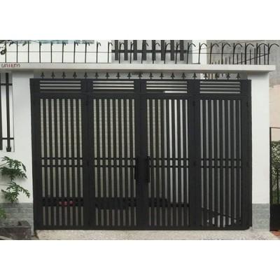 Những mẫu cửa cổng sắt hộp đẹp, đơn giản, hiện đại, mới nhất