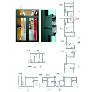 Cửa nhôm Xingfa hệ 55