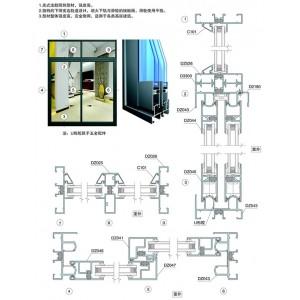 Cửa nhôm Xingfa hệ 2001