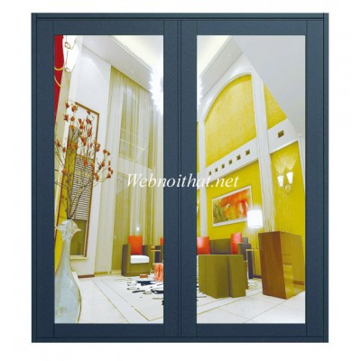 Hình ảnh cửa sổ mở quay nhôm Xingfa nhập khẩu