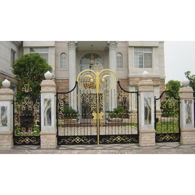 Mẫu cửa cổng sắt mỹ thuật đẹp