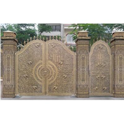 Mẫu cửa cổng sắt nghệ thuật đẹp