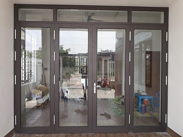 Cửa nhôm Xingfa đem lại không gian thoải mái cho ngôi nhà